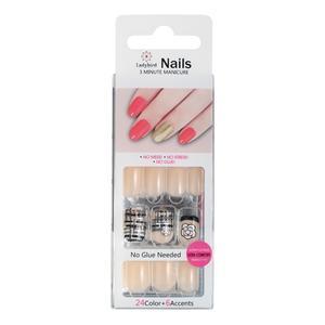 Drücken Sie auf Square UV Design Nails S945