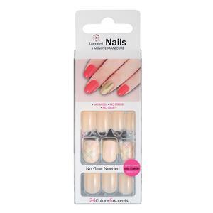 Ovale salon acryl nagels S959