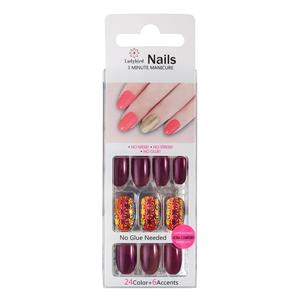 Salon Square Faux Nails S50