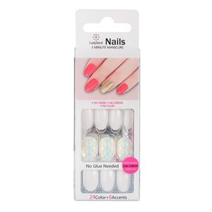 Salon Round Faux Nails S053