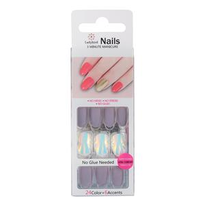 Salon Oval Faux Nails Nagelverlängerung S058