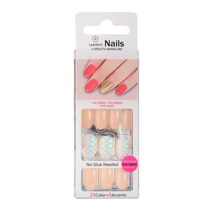 Salon Round Tips Nail S062