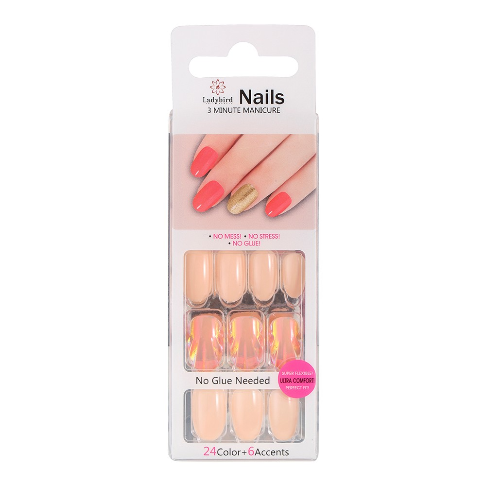 Salon Almond Nail Tips S063