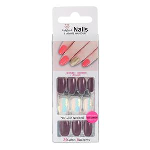 Salon Ovale nagel Tips S064