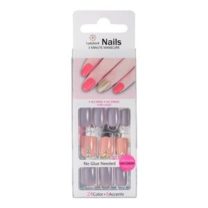 NATÜRLICHE OVALS MEDIUM PINK French Nails S961