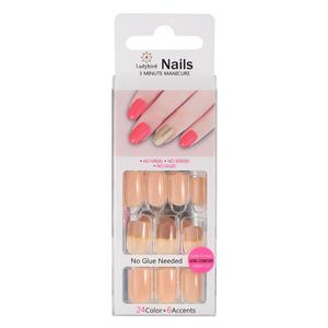 Ovale Salon Acryl French Nails S962