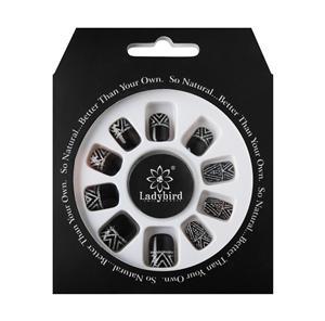 Voorgelijmde pers op valse nagels voor kinderen Falsies / 24 nagels
