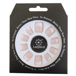 Everlasting French Nails Medium Length