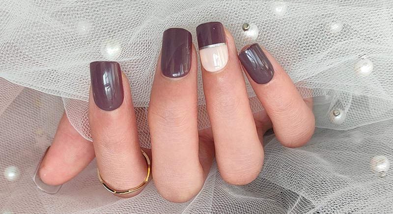 Druk op nagels
