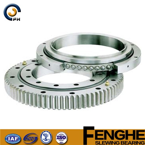 double row contact ball slewing gear bearing