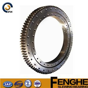 single row ball slewing bearing Manufacturers, single row ball slewing bearing Factory, Supply single row ball slewing bearing
