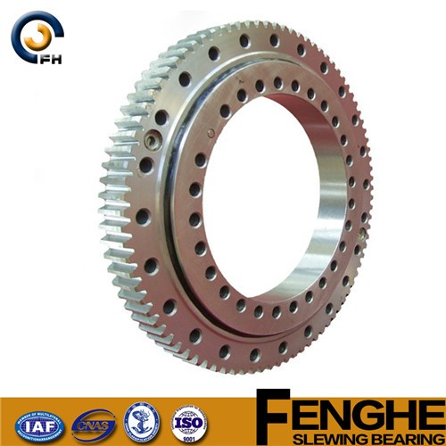 four point contact ball slewing gear bearing