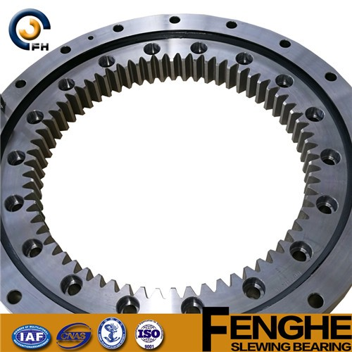 tooth quenching slewing gear bearing