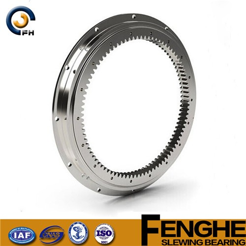 external gear thin types slewing bearing