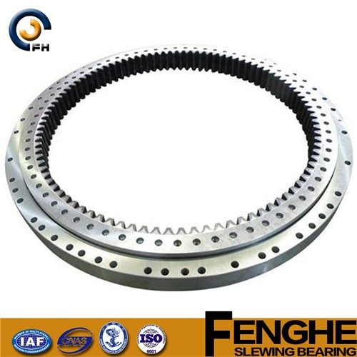 cross roller mechanical slewing bearing