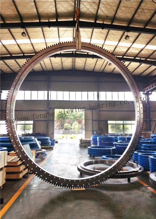 large diameter slewing bearing made by xuzhou fenghe