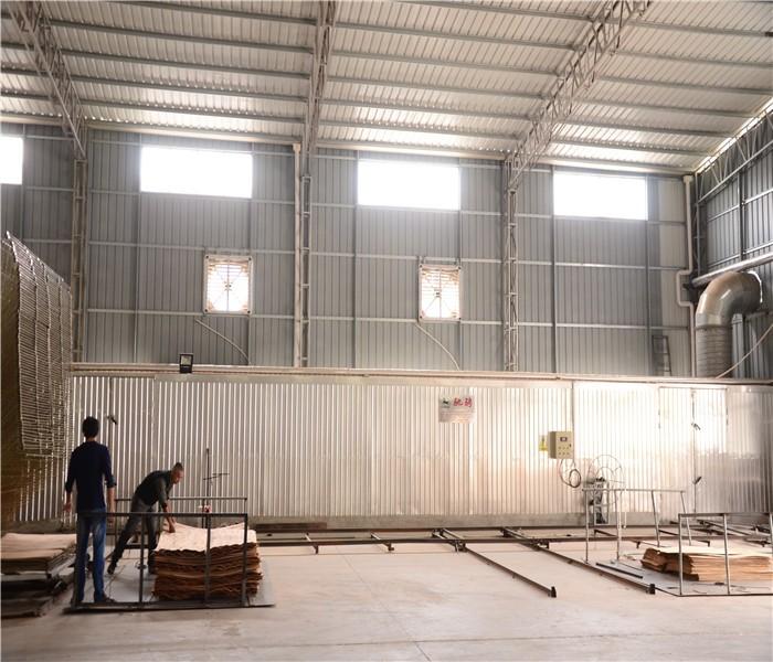 Track Veneer Drying Kiln
