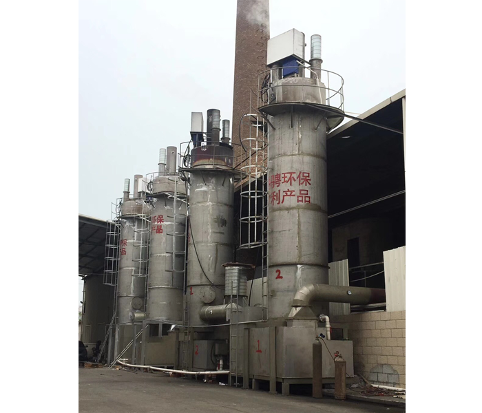Оборудование для удаления пыли из котла на биомассе