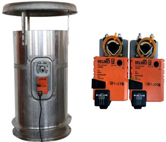Kiln Moisture Discharging System