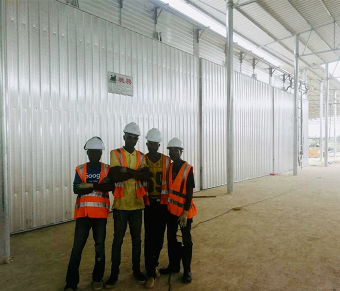与利比里亚Shangyou Wooden Development Com合作