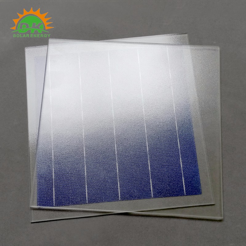 Low Iron Textured Glass