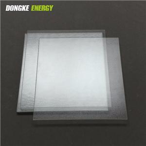 Prismatic Tempered Glass For Solar Panel