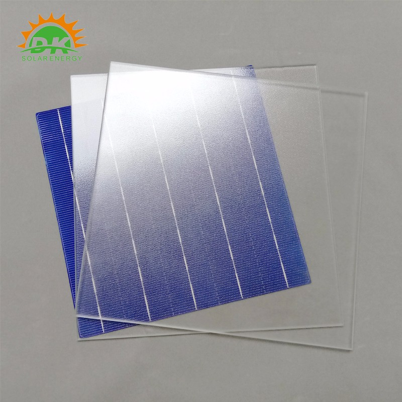 solar cell temper glass