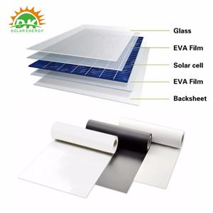 لوحة للطاقة الشمسية الخلفية