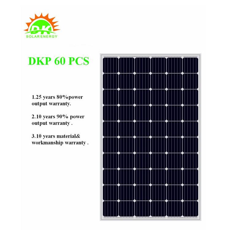 لوحة الخلايا الشمسية مونو