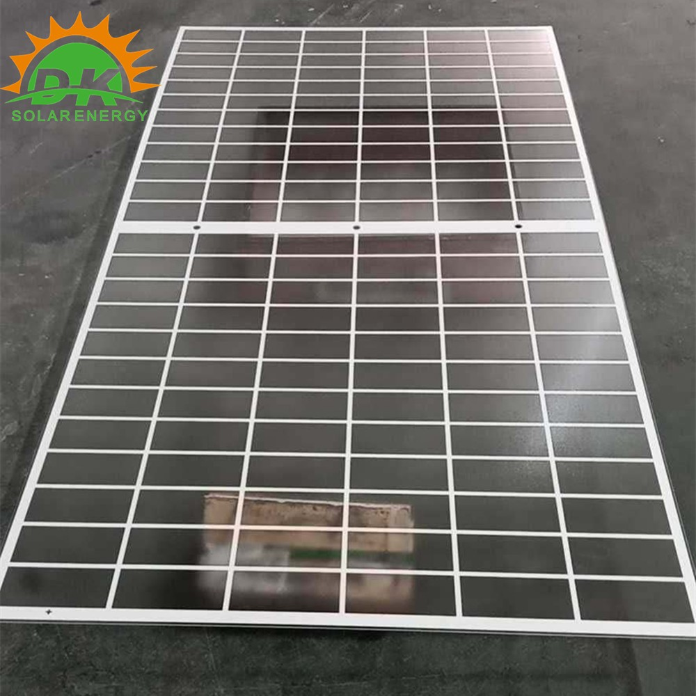 2mm 2.5mm 3.0mm back float Glass for BIPV panel printed backside with holes for BIPV panels
