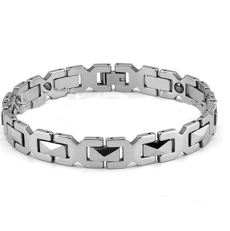 Tungsten Steel Germanium Health Balance Bracelet