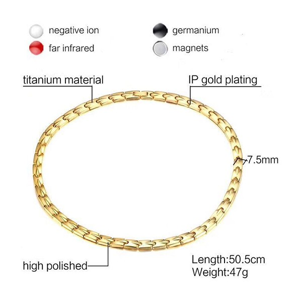 Fashion Germanium Titanium Steel Necklaces Manufacturers, Fashion Germanium Titanium Steel Necklaces Factory, Supply Fashion Germanium Titanium Steel Necklaces