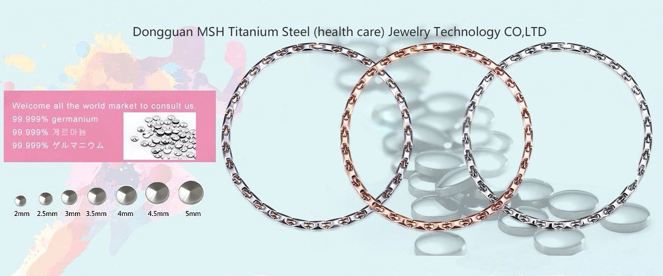 Luxury  Germanium Stone Health Care Jewelry