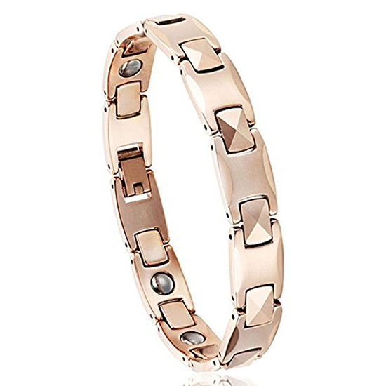 Fashion Style Tungsten Steel Germanium Bracelet