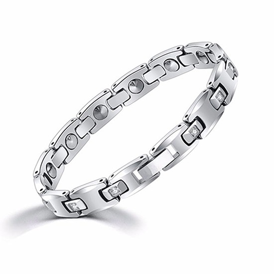 Tungsten Steel Germanium Energy Bracelet