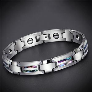 Excellent Quality Pure Germanium Titanium Steel Bracelet