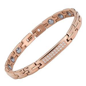 Elegant Pure Germanium Titanium Steel Bracelet
