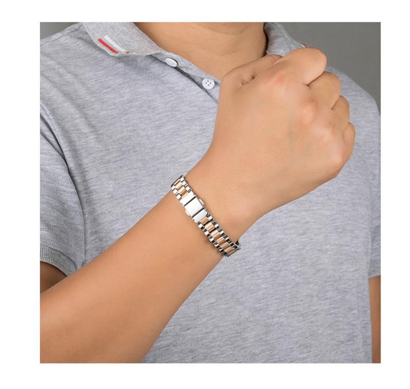 pure germanium titanium steel bracelet