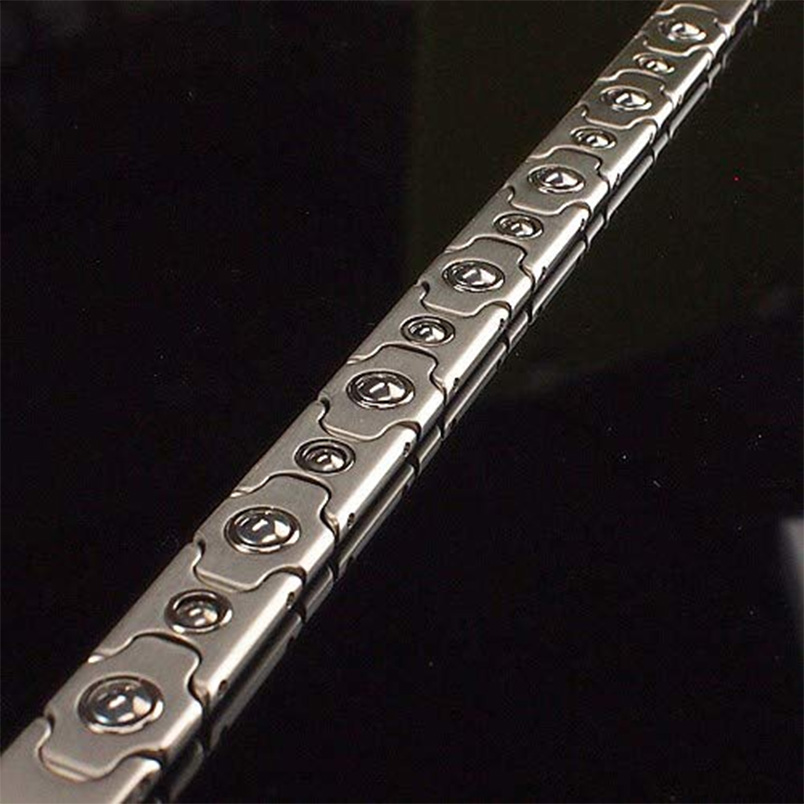 titanium germanyum grain bracelet