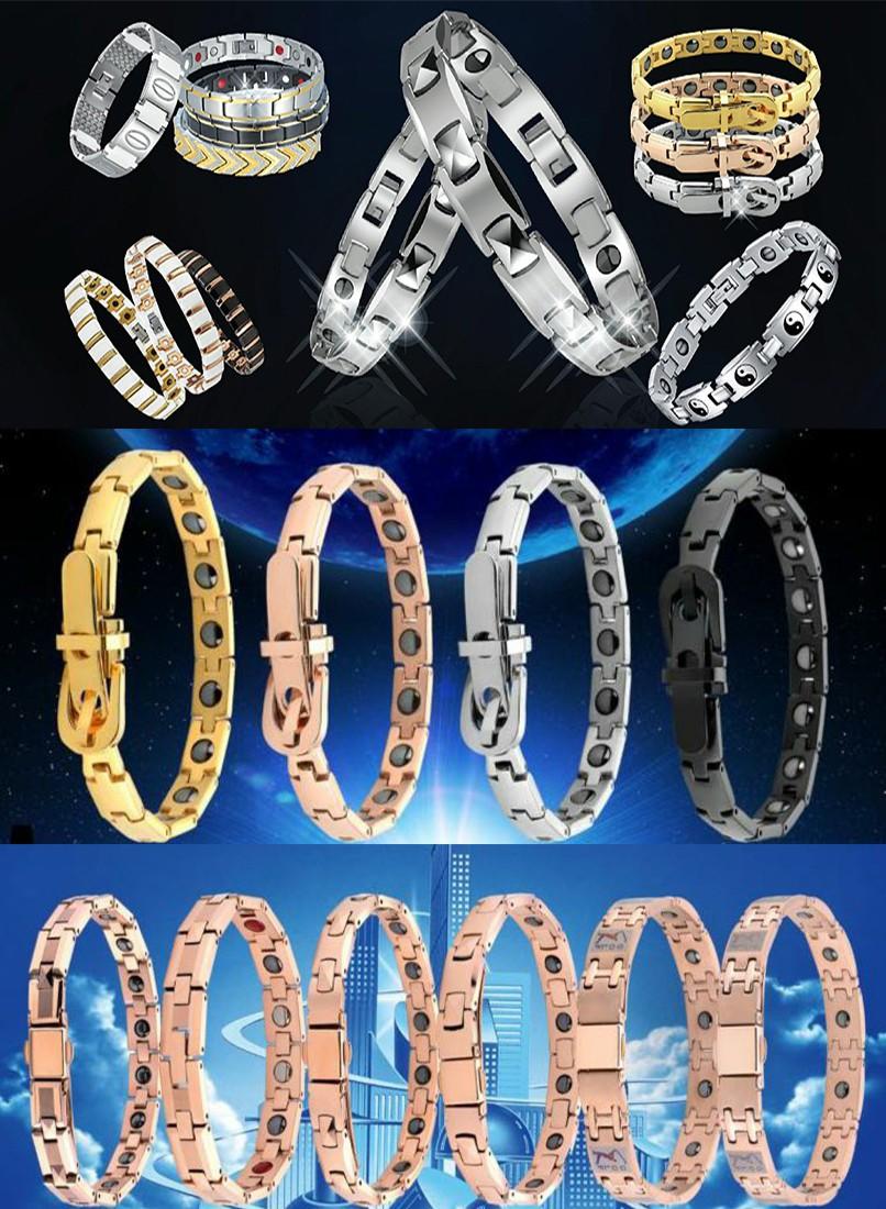 germanium bracelet of titanium