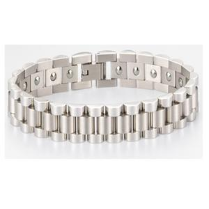 Design Style 316L Stainless Steel Germanium Bracelet