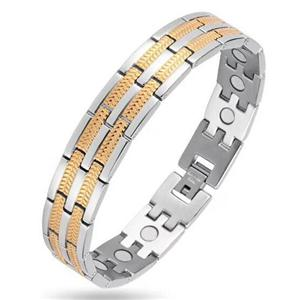 Hot Sale 316L Hindi kinakalawang na asero Germanium Pulseras