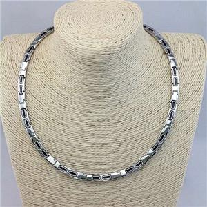 Fashion 316L hindi kinakalawang na asero Pure Germanyum Necklaces