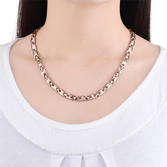 Sales Cheap Deluxe 316L Stainless Steel Pure Germanium Necklaces Promotions