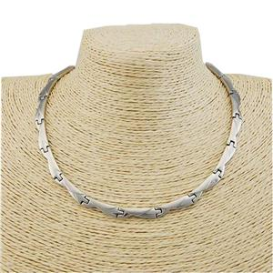 Fashion Germanyum Titanium Steel Necklaces