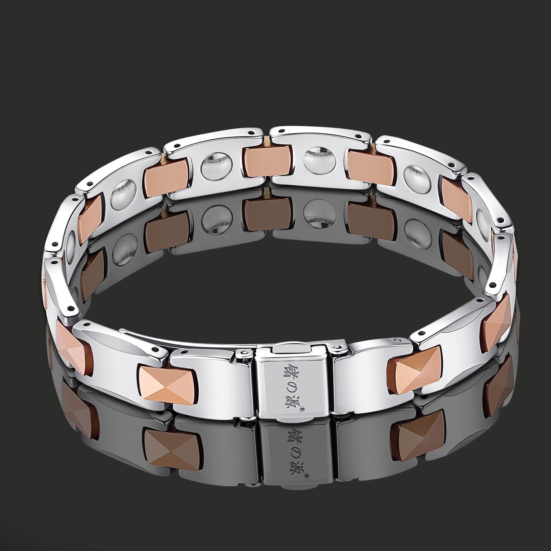 Pyramid Men's Germanium Bracelet Manufacturers, Pyramid Men's Germanium Bracelet Factory, Supply Pyramid Men's Germanium Bracelet