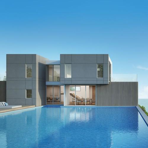 Buy New Prefabricated Homes, Cheap Modern Prefabricated Houses, Prefabricated Smart Home Villa Price