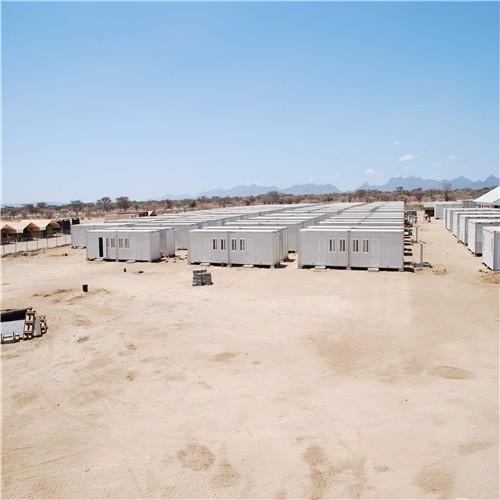 Proyecto de campamento de trabajadores de Kenia