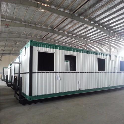Proyecto de Canada Modified Container Camp