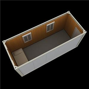 flat pack portable storage containers